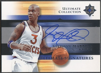 2005/06 Ultimate Collection #USST Stephon Marbury Signatures Auto