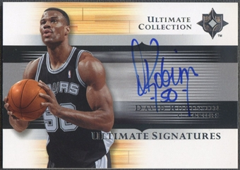 2005/06 Ultimate Collection #USDR David Robinson Signatures Auto