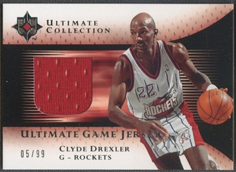 2005/06 Ultimate Collection #UJCD Clyde Drexler Jersey #05/99