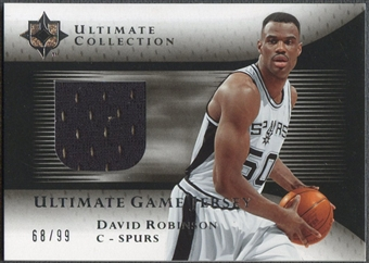 2005/06 Ultimate Collection #UJDA David Robinson Jersey #68/99