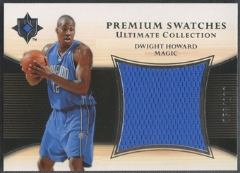 2005/06 Ultimate Collection #PSDH Dwight Howard Premium Swatches Jersey #058/100