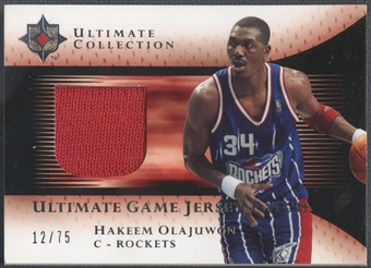 2005/06 Ultimate Collection #UJPHO Hakeem Olajuwon Patch #12/75
