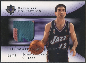 2005/06 Ultimate Collection #UJPJS John Stockton Patch #60/75
