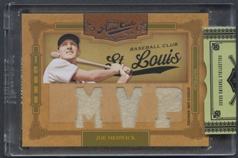 2008 Prime Cuts #37 Joe Medwick Icons Materials MVP Jersey #3/5