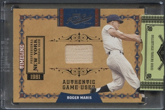 2008 Playoff Prime Cuts #35 Roger Maris Timeline Bat #74/99