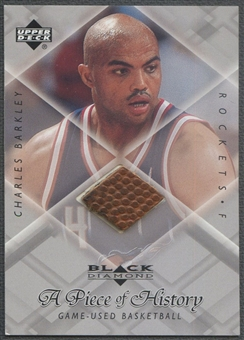 1999/00 Black Diamond #CB Charles Barkley A Piece of History Ball