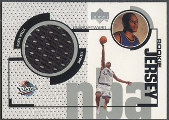 1998/99 Upper Deck #GJ49 Bonzi Wells Rookie Game Jersey