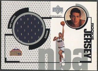 1998/99 Upper Deck #GJ47 Raef LaFrentz Rookie Game Jersey