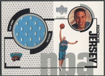 1998/99 Upper Deck #GJ42 Mike Bibby Rookie Game Jersey