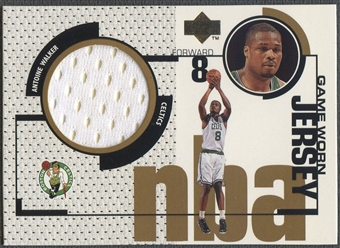 1998/99 Upper Deck #GJ36 Antoine Walker Game Jersey