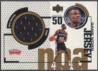 1998/99 Upper Deck #GJ40 David Robinson Game Jersey