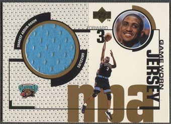 1998/99 Upper Deck #GJ39 Shareef Abdur-Rahim Game Jersey