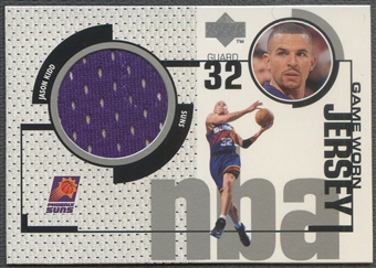 1998/99 Upper Deck #GJ28 Jason Kidd Game Jersey