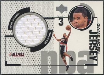 1998/99 Upper Deck #GJ26 Damon Stoudamire Game Jersey