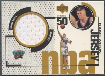 1998/99 Upper Deck #GJ18 Bryant Reeves Game Jersey