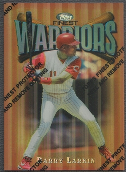 1997 Finest #66 Barry Larkin Refractor