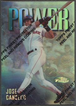 1997 Finest #101 Jose Canseco Refractor
