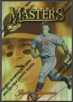 1997 Finest #190 Jim Thome Refractor