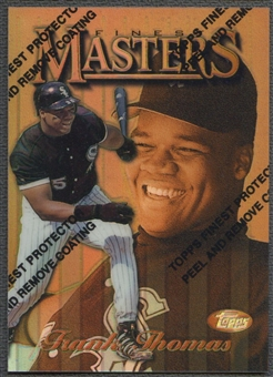 1997 Finest #29 Frank Thomas Refractor