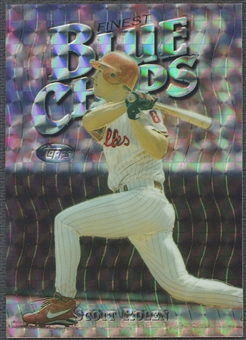 1997 Finest #133 Scott Rolen Embossed Refractor