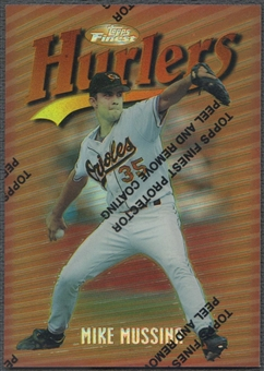 1997 Finest #95 Mike Mussina Refractor