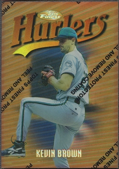 1997 Finest #25 Kevin Brown Refractor
