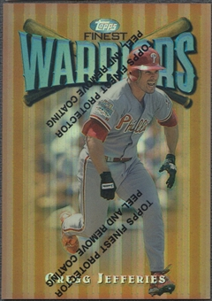 1997 Finest #38 Gregg Jefferies Refractor