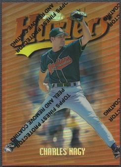 1997 Finest #7 Charles Nagy Refractor