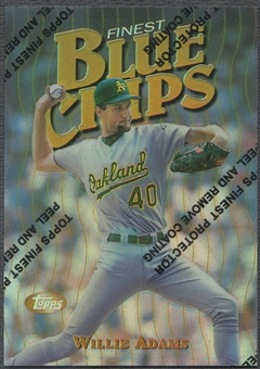 1997 Finest #12 Willie Adams Refractor