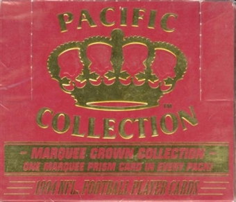 1994 Pacific Marquee Prism Football Hobby Box