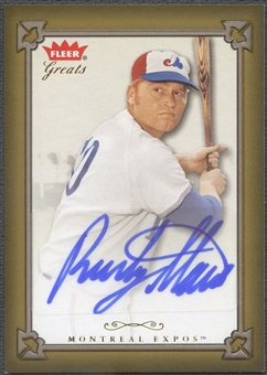2004 Greats of the Game #RST Rusty Staub Auto