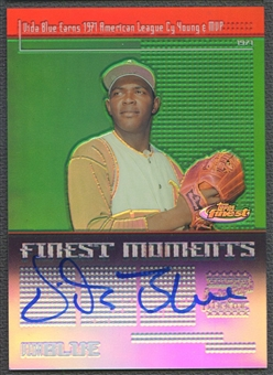 2004 Finest #VB Vida Blue Finest Moments Auto