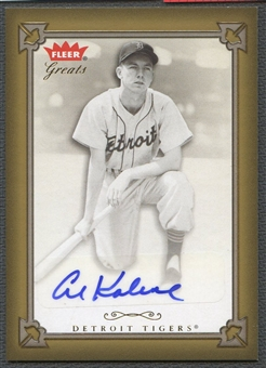 2004 Greats of the Game #AK Al Kaline Auto