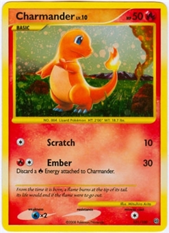 Pokemon Stormfront Single Charmander 101/100