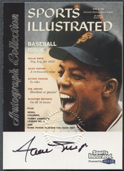 1999 Sports Illustrated Greats of the Game #47 Willie Mays Auto