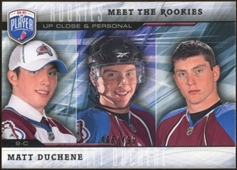 2009/10 Upper Deck Be A Player Meet The Rookies #MR3 Matt Duchene /499