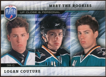 2009/10 Upper Deck Be A Player Meet The Rookies #MR8 Logan Couture /499