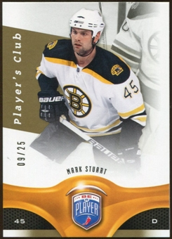 2009/10 Upper Deck Be A Player Player's Club #14 Mark Stuart 9/25