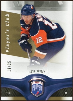 2009/10 Upper Deck Be A Player Player's Club #16 Josh Bailey 19/25