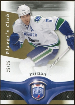2009/10 Upper Deck Be A Player Player's Club #49 Ryan Kesler /25