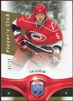 2009/10 Upper Deck Be A Player Player's Club #53 Tim Gleason /25