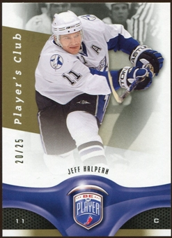 2009/10 Upper Deck Be A Player Player's Club #63 Jeff Halpern 20/25