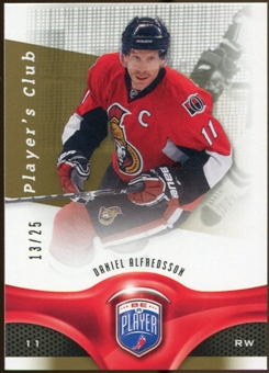 2009/10 Upper Deck Be A Player Player's Club #96 Daniel Alfredsson /25