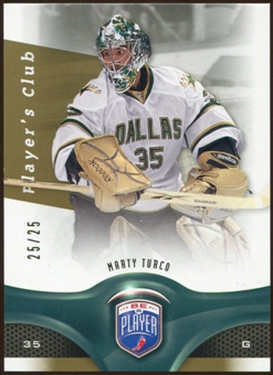 2009/10 Upper Deck Be A Player Player's Club #106 Marty Turco /25