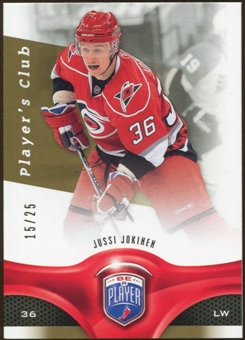 2009/10 Upper Deck Be A Player Player's Club #110 Jussi Jokinen /25