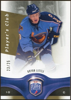 2009/10 Upper Deck Be A Player Player's Club #116 Bryan Little /25