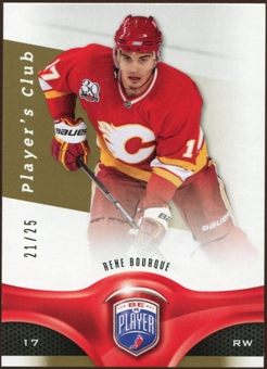 2009/10 Upper Deck Be A Player Player's Club #121 Rene Bourque /25