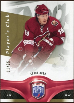 2009/10 Upper Deck Be A Player Player's Club #127 Shane Doan 11/25