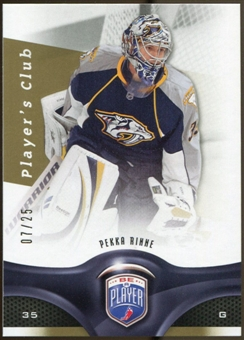 2009/10 Upper Deck Be A Player Player's Club #171 Pekka Rinne 7/25