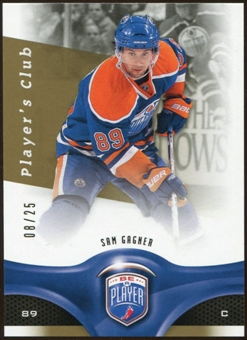 2009/10 Upper Deck Be A Player Player's Club #172 Sam Gagner 8/25